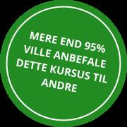 MERE END 95% VILLE ANBEFALE DETTE KURSUS TIL ANDRE (3)